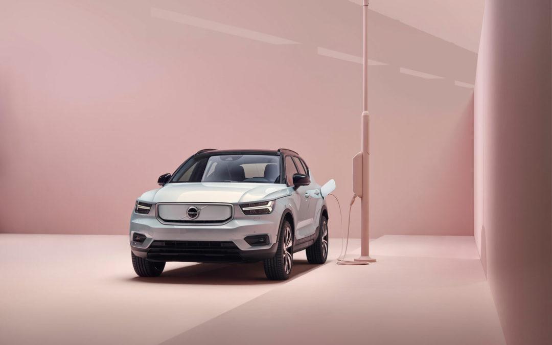 Volvo Recharge: Die Zukunft ist rosarot