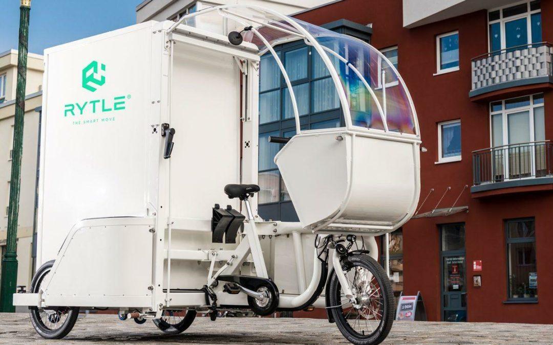 Rytle MoveR: Wasserstoff-Lastenrad für Lieferanten