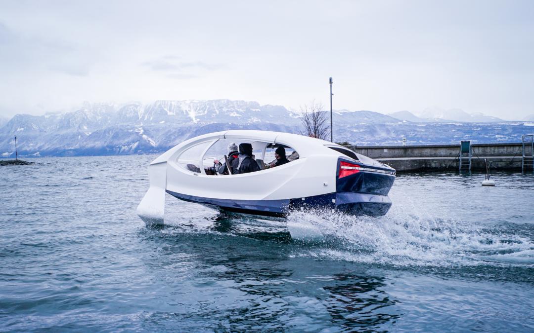 Seabubbles: Ökostrom-Taxi für Wasser-Pendler