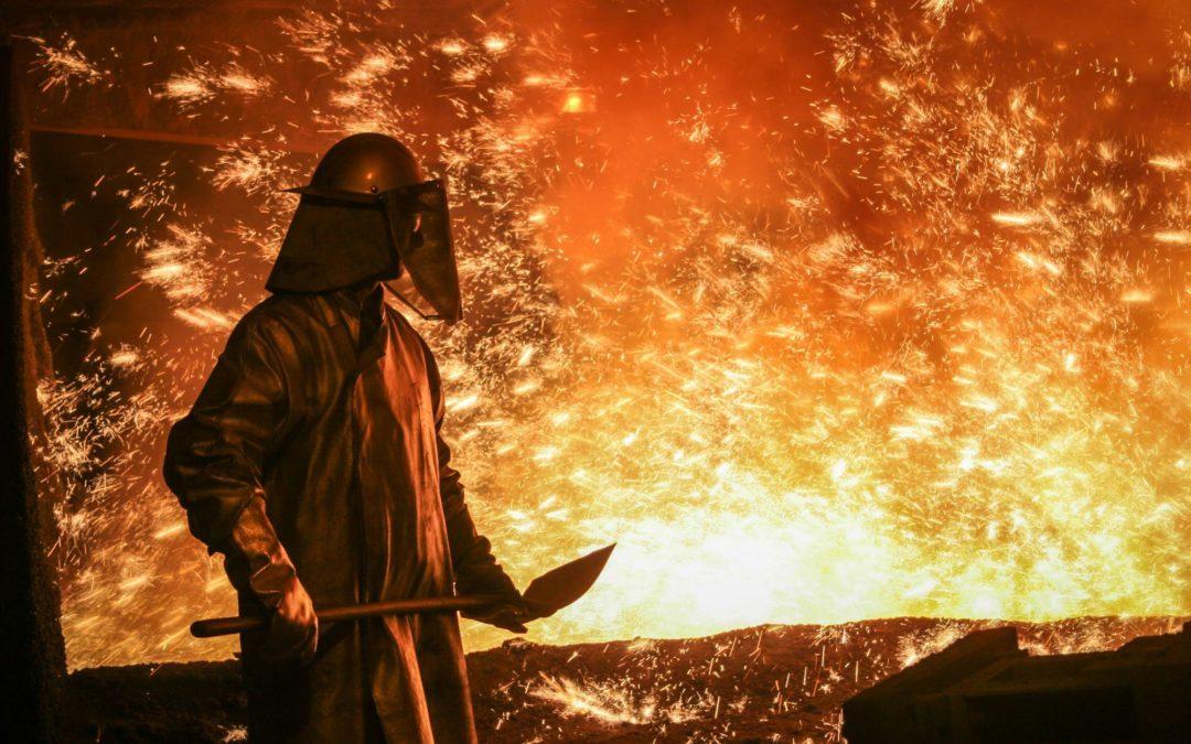 Wasserstoff soll Stahl sauberer machen