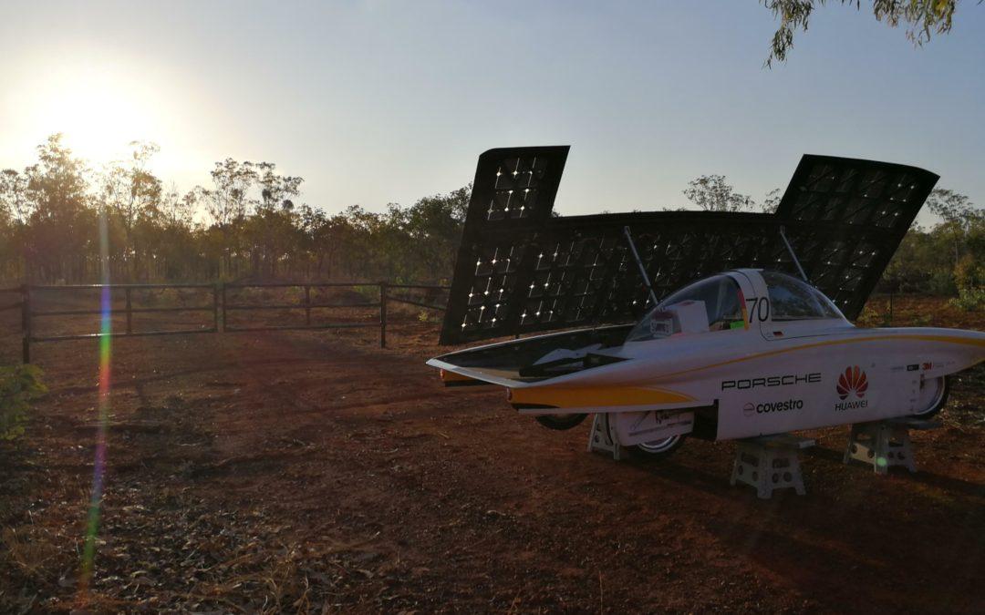 Sonnenwagen-Tagebuch: Notstop im Solarrennen
