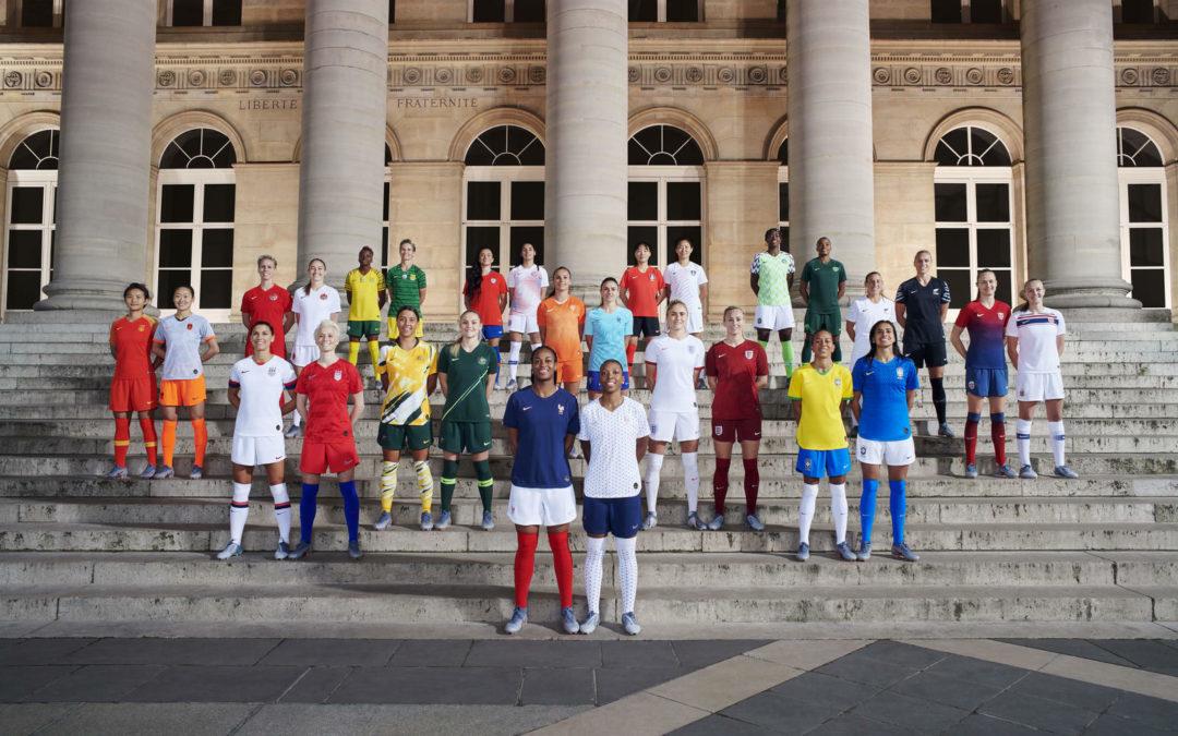 Frauenfußball: Nike rüstet WM-Teams mit Recycling-Shirts aus