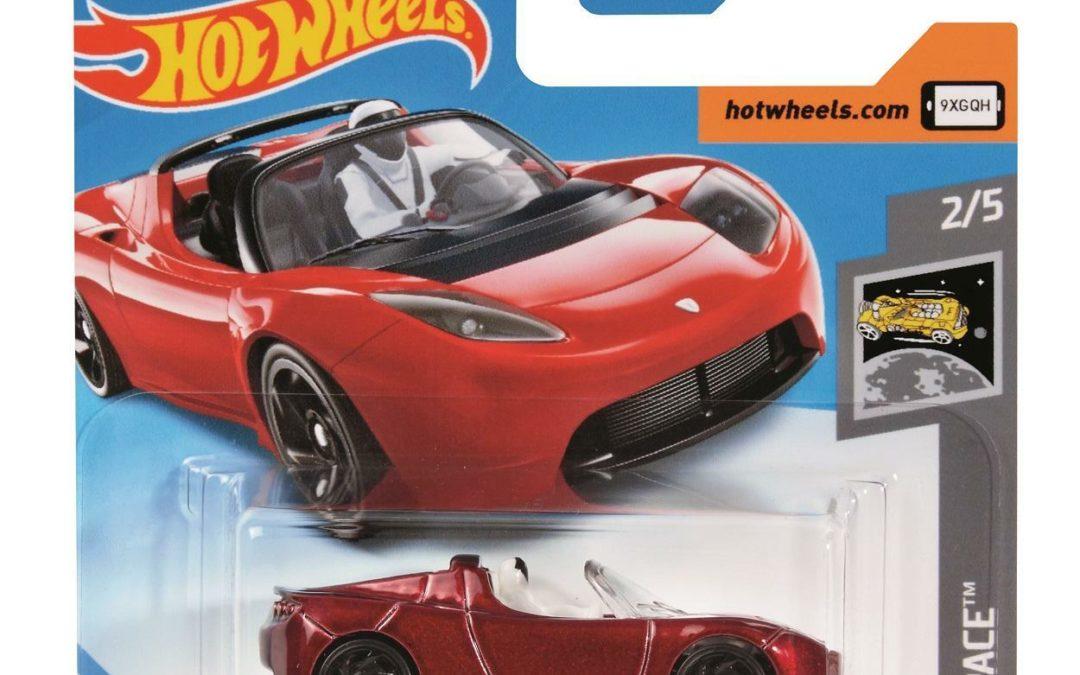 Hot Wheels macht Teslas Weltall-Roadster zum Spielzeug