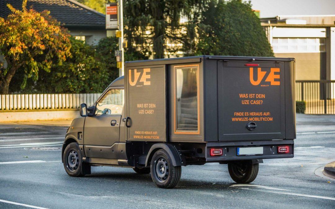 Kostenlose E-Transporter: UZE kooperiert mit Streetscooter