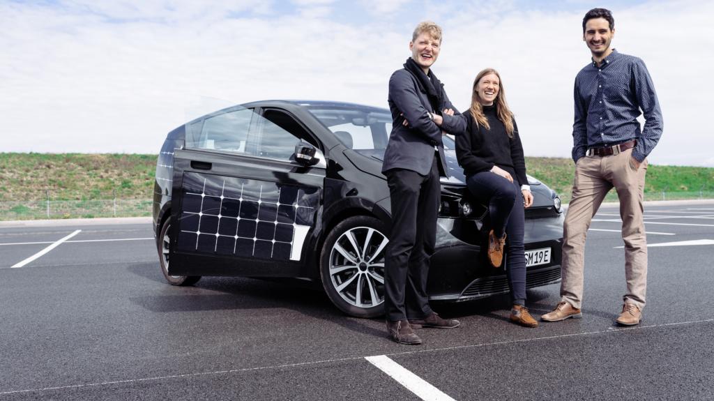 Das Gründer-Team des Münchner Start-up Sono Motors