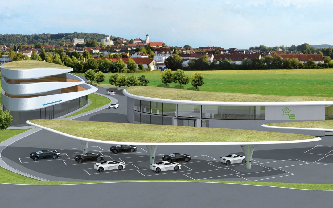 In Zusmarshausen soll die größte Stromtankstelle der Welt entstehen