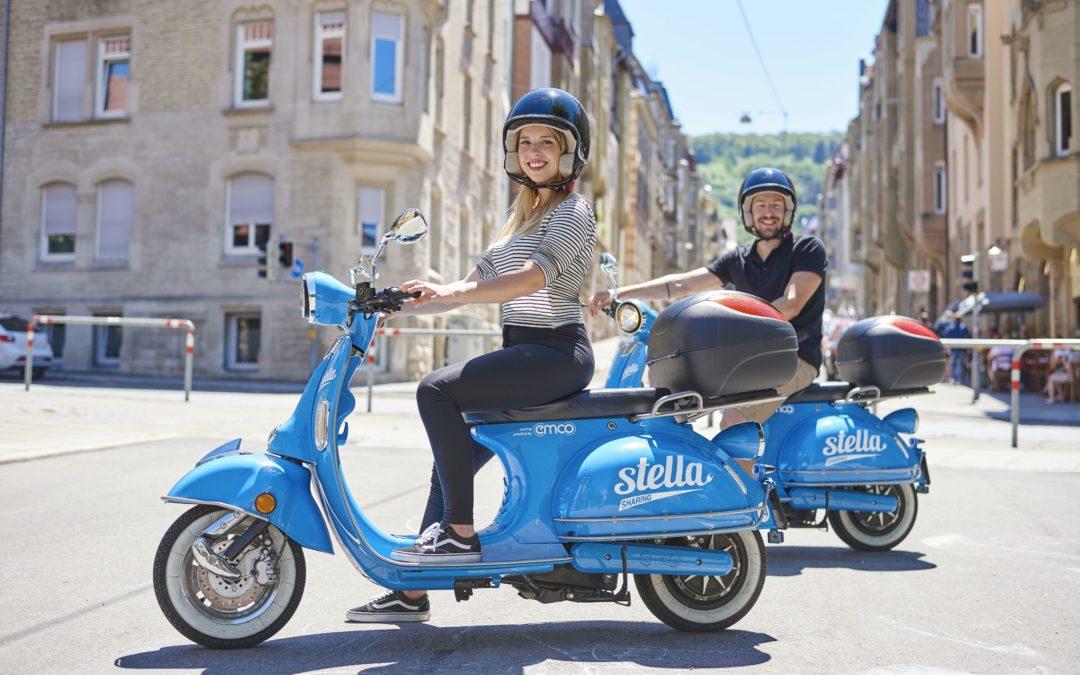 E-Roller: Stella und Eddy erobern die Stadt