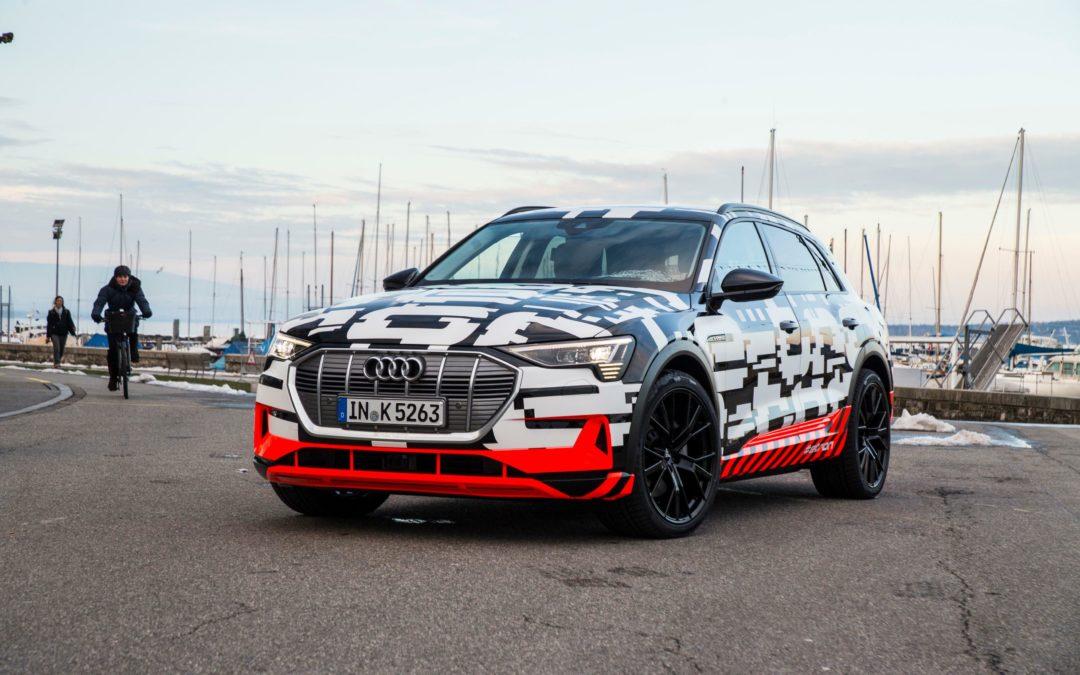 Audi E-Tron: Elektro-SUV mit Rundum-Service