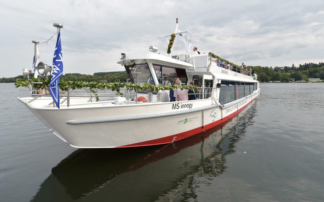 Elektro ahoi: Ausflugsschiff mit Brennstoffzelle