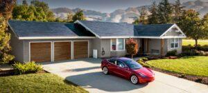Tesla solar-Dach