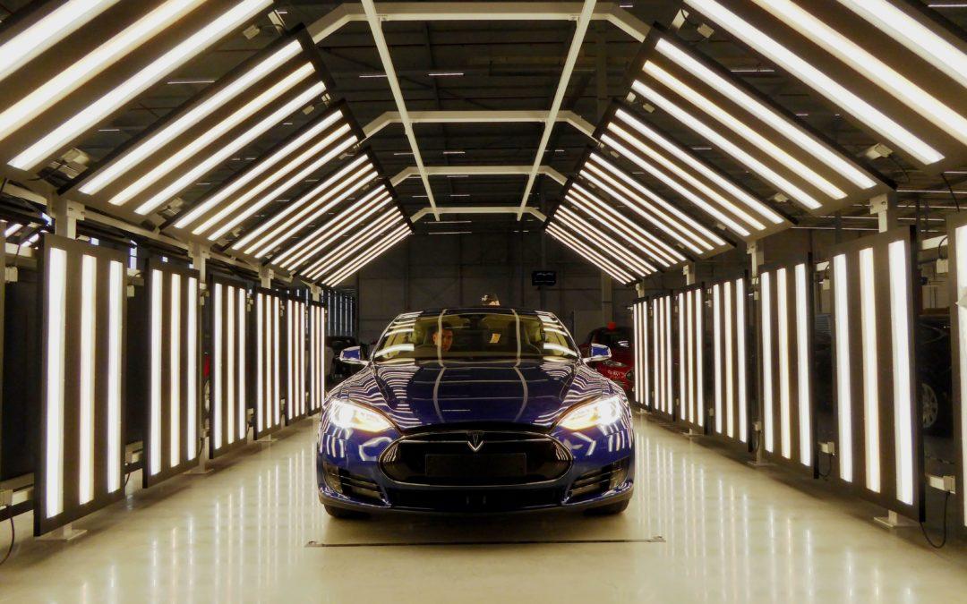 Die europäische Tesla-Manufaktur