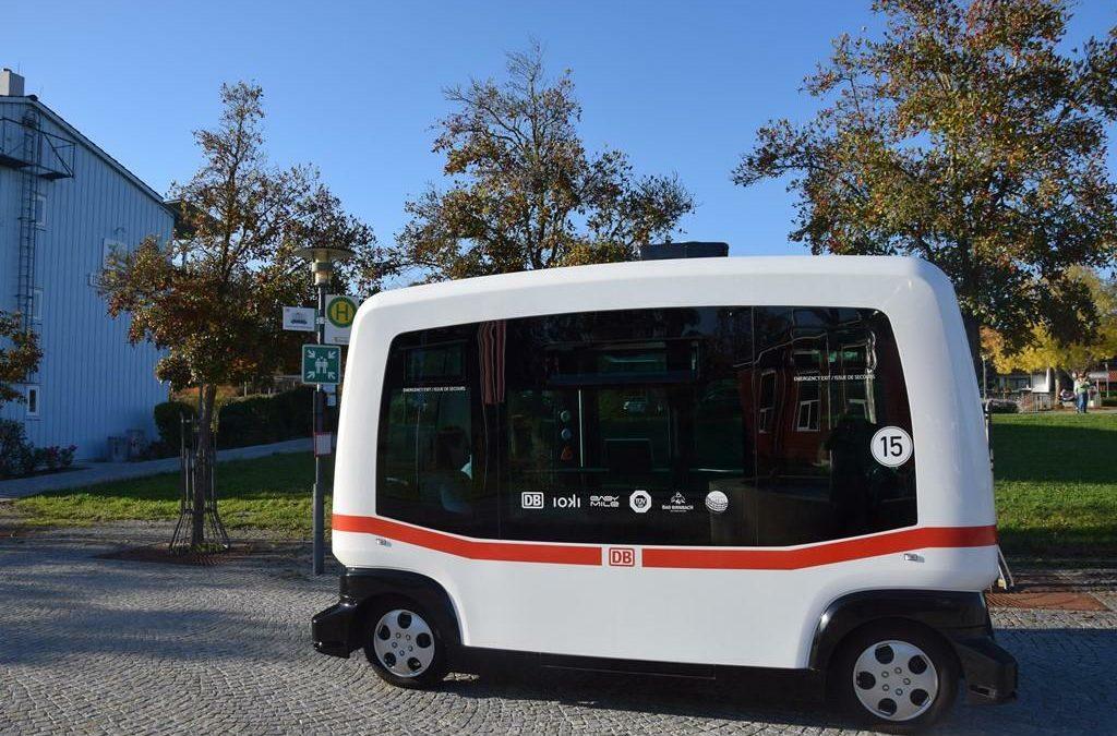 Nahverkehr: Bahn setzt autonome Elektro-Busse ein
