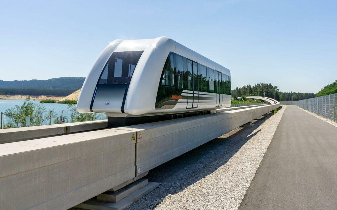 Magnetbahn: Schwebend durch die City
