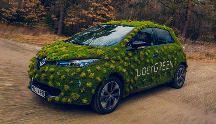 Uber startet Elektroauto-Service in Berlin und München