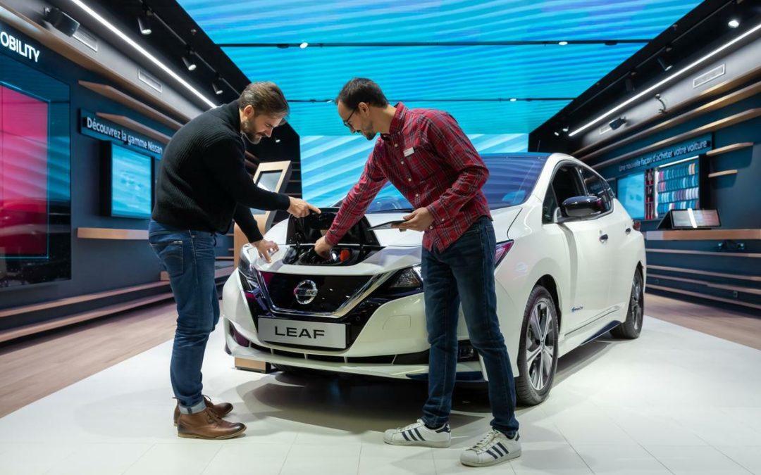 Nissan geht neue Wege beim Verkauf des Leaf