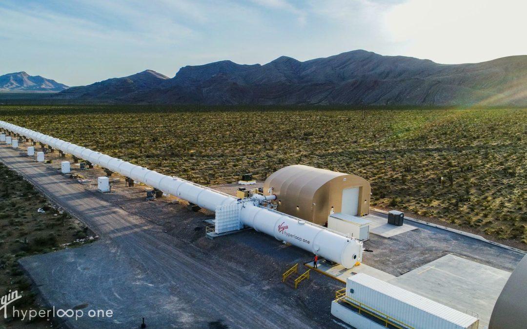 Röhrenbahn: Hyperloop One kommt nach Spanien