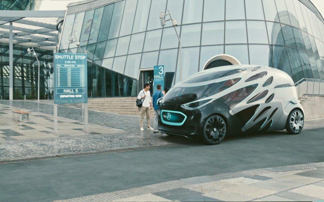 Mercedes Vision Urbanetic: Sieht so das Stadtmobil der Zukunft aus?