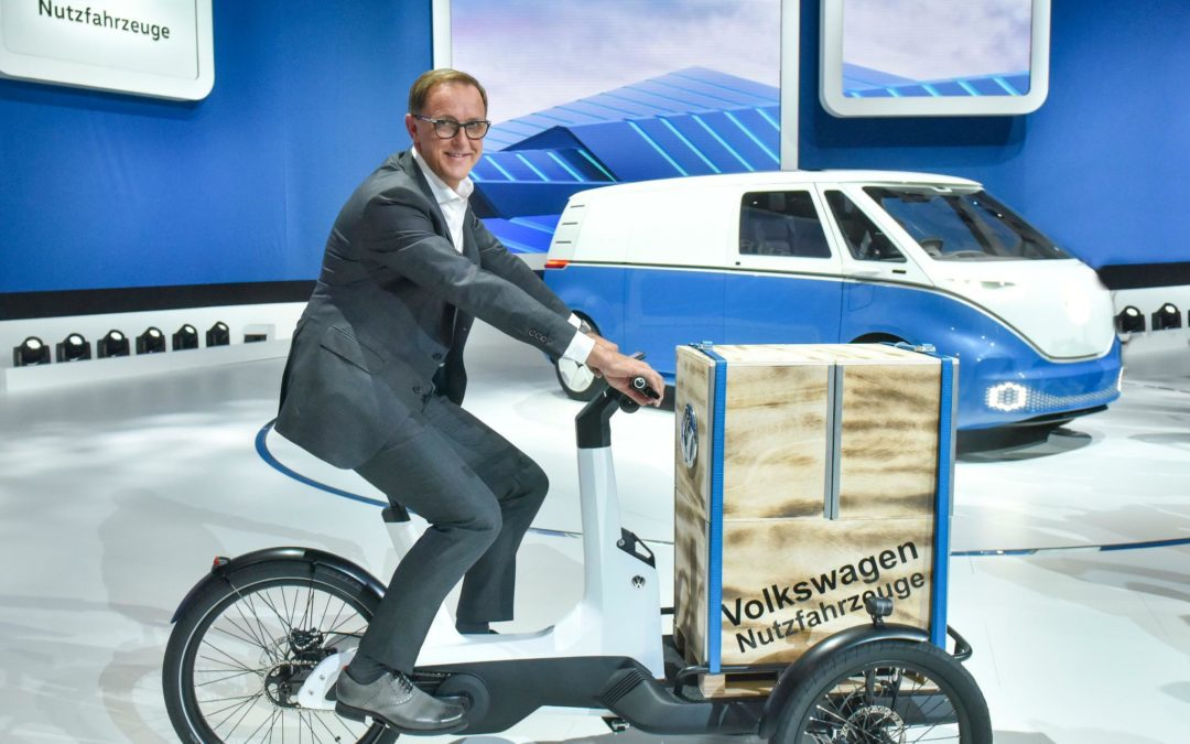 Volkswagen baut Lastenrad