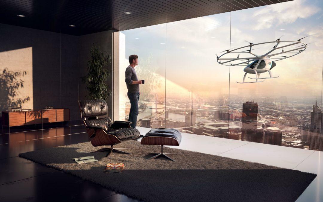 Volocopter und Co: Luft-Autos gegen den Stau