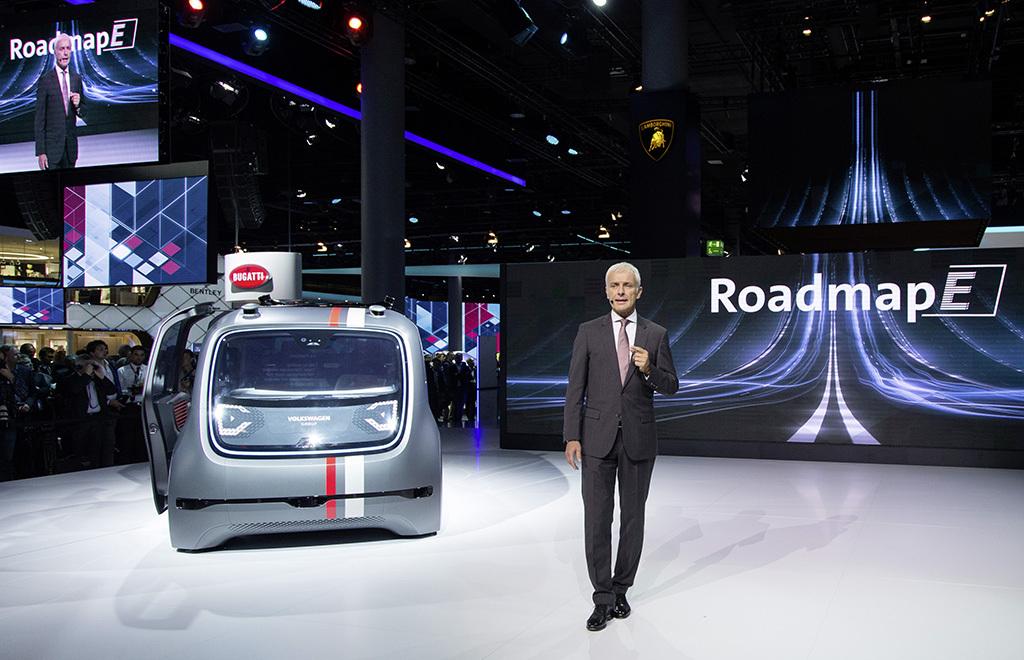 Volkswagen beginnt eigene Energiewende mit 50 E-Modellen