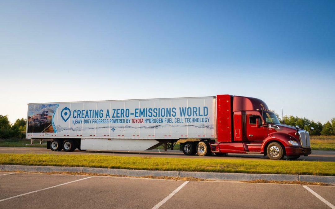 Toyota arbeitet am schweren Wasserstoff-Lkw
