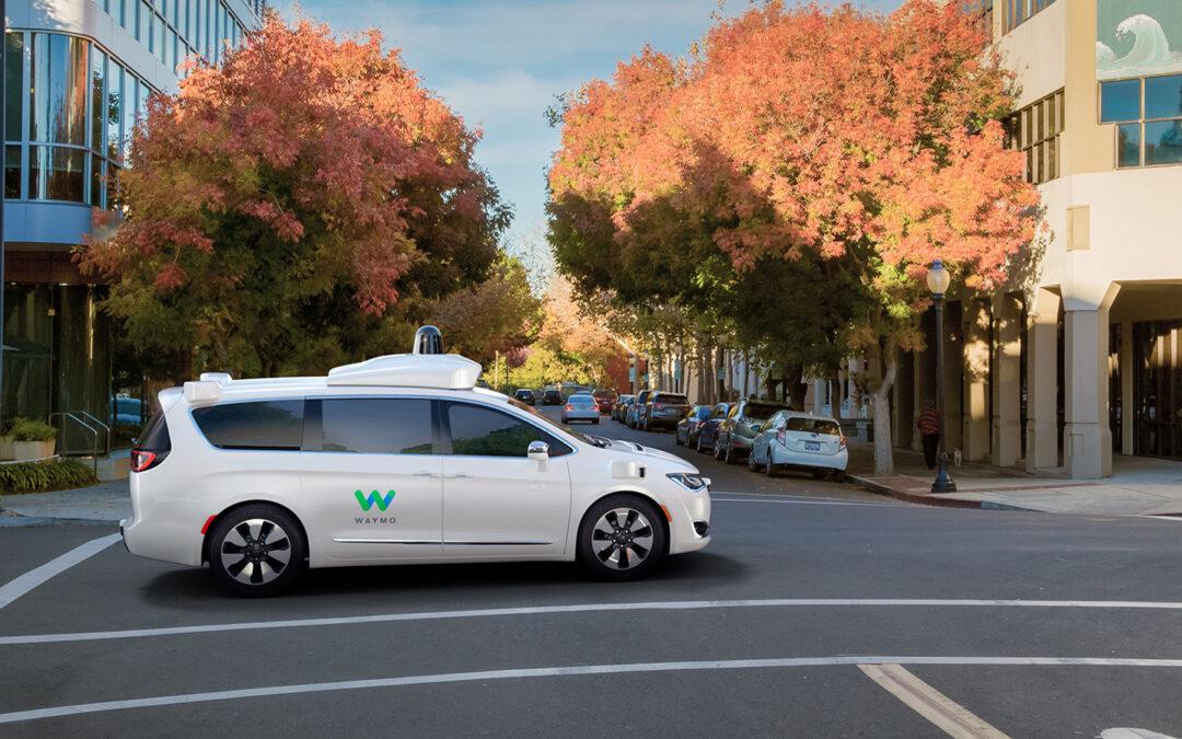 Google-Schwester Waymo fährt 9000 Kilometer autonom ohne Notabschaltung
