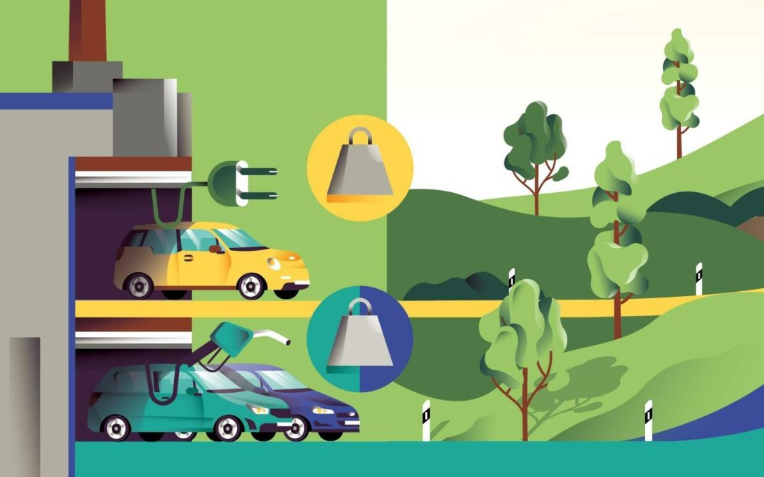 Vergleichsrechnung: So viel CO2 sparen E-Autos gegenüber Verbrennern