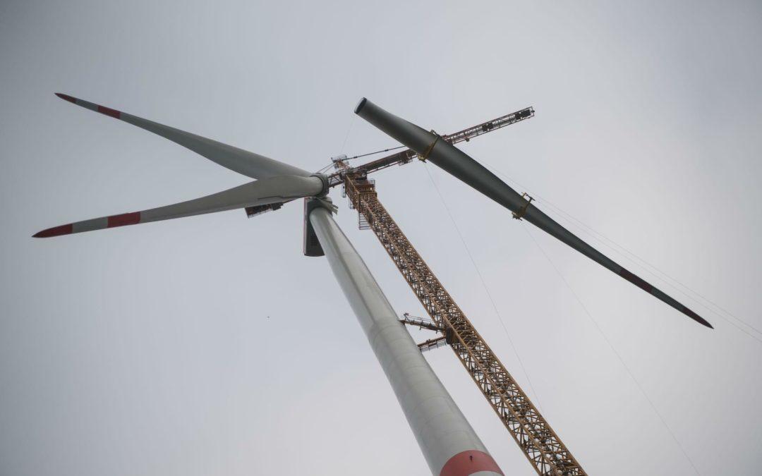 Welthöchstes Windrad steht auf Pumpspeicher