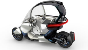 Yamaha-Konzeptfahrzeug MW Vision