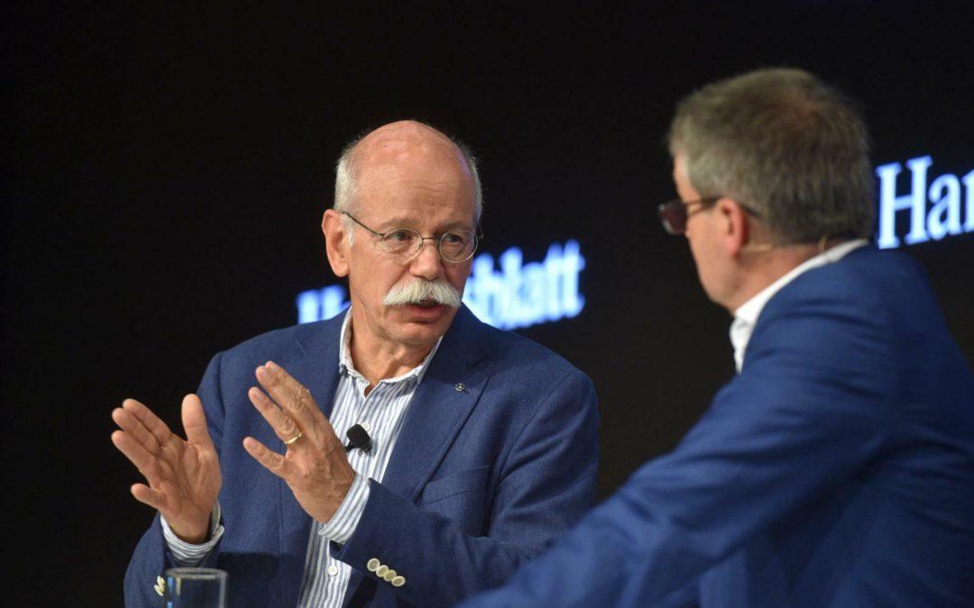 """Daimler-Chef Zetsche: """"Der Blick nach vorne bringt uns weiter"""""""