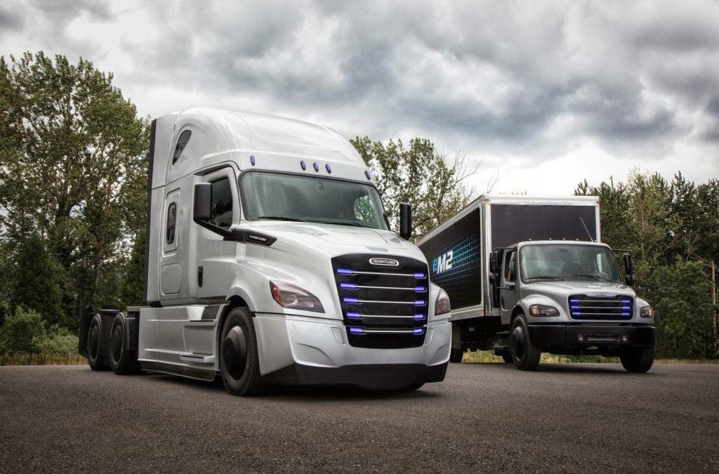 Daimler: Neue E-Trucks für den Highway
